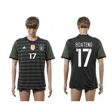 European Cup 2016 Germany away 17 Boateng AAA+ soccer jerseys