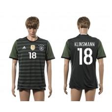 European Cup 2016 Germany away 18 Klinsmann AAA+ soccer jerseys