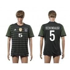 European Cup 2016 Germany away 5 Bekenbauer AAA+ soccer jerseys