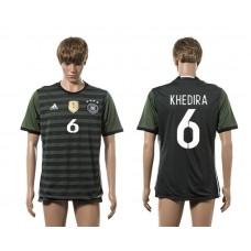 European Cup 2016 Germany away 6 Khedira AAA+ soccer jerseys