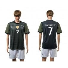 European Cup 2016 Germany away 7 Schweinsteiger soccer jerseys