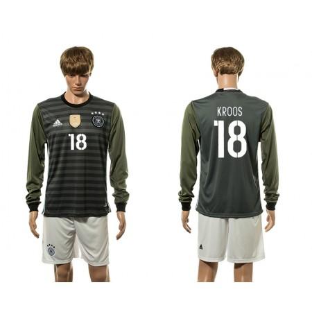 European Cup 2016 Germany away long sleeve 18 soccer jerseys