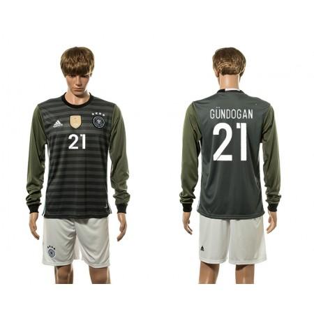 European Cup 2016 Germany away long sleeve 21 soccer jerseys
