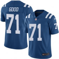 2016 Nike Indianapolis Colts 71 Denzelle Good Royal Blue Mens Stitched NFL Limited Rush Jersey