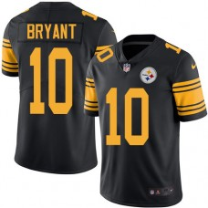 2016 Nike Pittsburgh Steelers 10 Martavis Bryant Black Mens Stitched NFL Limited Rush Jersey