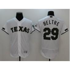 2017 MLB Texas Rangers 29 Beltre White Elite Commemorative Edition Jerseys