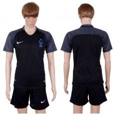 2017-2018 National Men France Away Suits Soccer Jersey