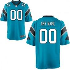 Men Carolina Panthers Nike Blue Custom Alternate Game NFL Jersey