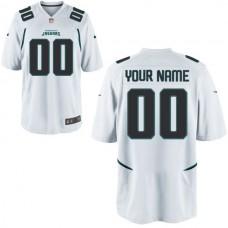 Men Jacksonville Jaguars Custom Game White NFL Jersey