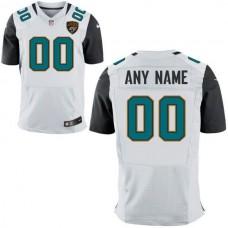 Men Jacksonville Jaguars Nike White Custom Elite NFL Jersey