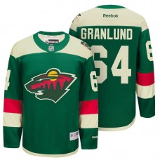 Minnesota Wild Mikael Granlund Green 2016 Stadium Series Men NHL Jersey