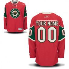 Reebok Minnesota Wild Youth Premier Home NHL Jersey
