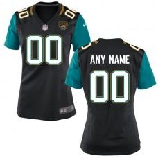 Women Jacksonville Jaguars Nike Black Custom NFL Jersey