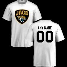 Youth Jacksonville Jaguars Design-Your-Own Short Sleeve Custom NFL T-Shirt