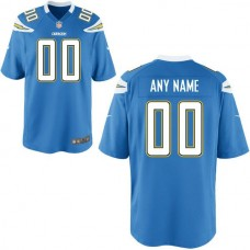 Youth Los Angeles Chargers Custom Alternate Blue Game NFL Jersey