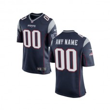 Youth New England Patriots Nike Navy Custom Game NFL Jersey