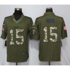 2017 NFL NEW Nike Cincinnati Bengals 15 Ross Green Salute To Service Limited Jersey