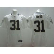 2017 NFL Nike New Orleans Saints 31 Byrd White elite Jerseys