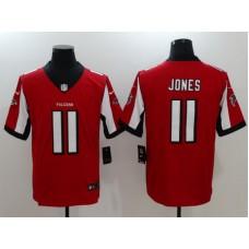 Men Atlanta Falcons 11 Jones Red Nike Vapor Untouchable Limited NFL Jersey