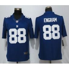 Men New York Giants 88 Engram Blue Nike Limited NFL Jerseys