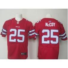 NFL Buffalo Bills 25 McCoy red Nike Elite jerseys