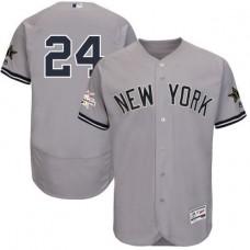 2017 MLB All Star New York Yankees 24 Sanchez  Grey Elite Jerseys