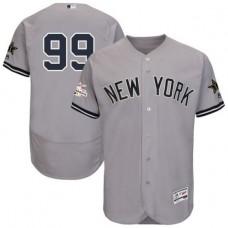 2017 MLB All Star New York Yankees 99 Judge Grey Elite Jerseys