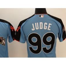 2017 MLB All-Star New York Yankees 99 Judge blue Jerseys
