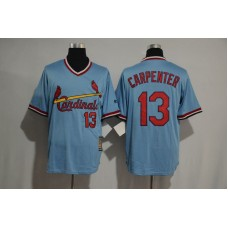 2017 MLB St Louis Cardinals 13 Cartenper blue jersey