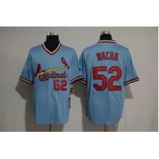 2017 MLB St Louis Cardinals 52 Michael Wacha blue jersey