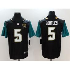 Men Jacksonville Jaguars 5 Bortles Black Nike Vapor Untouchable Limited NFL Jerseys
