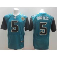 Men NFL Jacksonville Jaguars 5 Bortles green elite NFL Nike jersey
