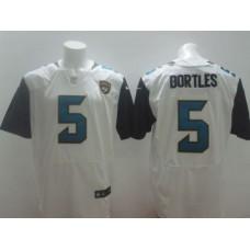 Men NFL Jacksonville Jaguars 5 Bortles white Elite NFL Nike jersey