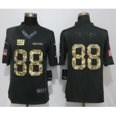 Men New York Giants 88 Engram Anthracite Nike Salute To Service Limited NFL Jerseys