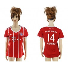 2017-2018 Club Bayern Munich home aaa verion women 14 soccer jersey