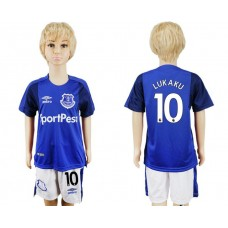2017-2018 club Everton FC home kids 10 soccer jersey