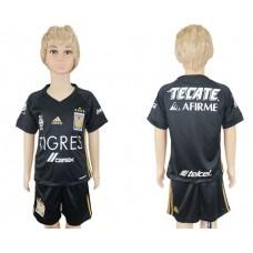 2017-2018 club Tigres UANL away kids soccer jersey
