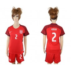 2017-2018 national women United States away 2 soccer jersey