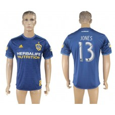 Men 2017-2018 club Los Angeles Galaxy away aaa version 13 blue soccer jersey