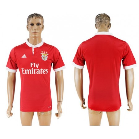 Men 2017-2018 club SL Benfica home aaa version red soccer jersey