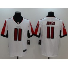 Men Atlanta Falcons 11 Jones White Nike Vapor Untouchable Limited NFL Jerseys