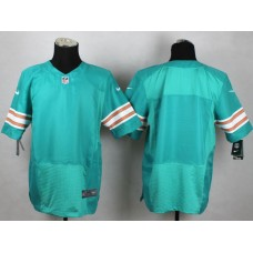 Men Miami Dolphins Blank Green Elite Nike NFL Jerseys