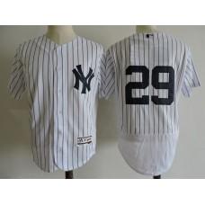 Men New York Yankees 29 Todd Frazier White Elite MLB Jerseys