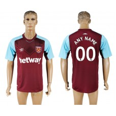 Men 2017-2018 club West ham at home customized red aaa version soccer jersey