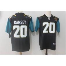Men Jacksonville Jaguars 20 Ramsey Black Nike Vapor Untouchable Limited NFL Jerseys