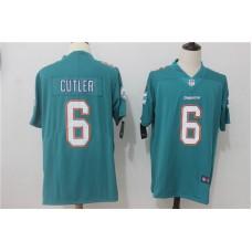 Men Miami Dolphins 6 Cutler Green Nike Vapor Untouchable Limited NFL Jerseys