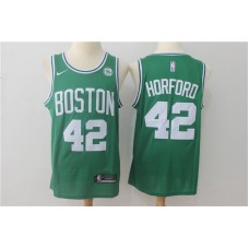 Men Boston Celtics 42 Horford Green Game Nike NBA Jerseys