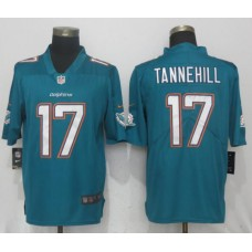 Men Miami Dolphins 17 Tannehill Green 2017 Vapor Untouchable Limited Player NFL Jerseys