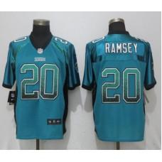 Men Jacksonville Jaguars 20 Ramsey Drift Fashion Green Nike Elite NFL Jerseys