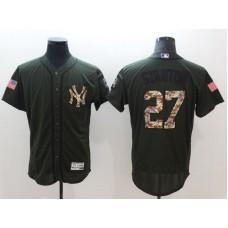 Men New York Yankees 27 Stanton Elite Spring Edition MLB Jerseys